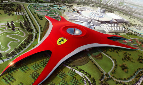 ferrari world ticket