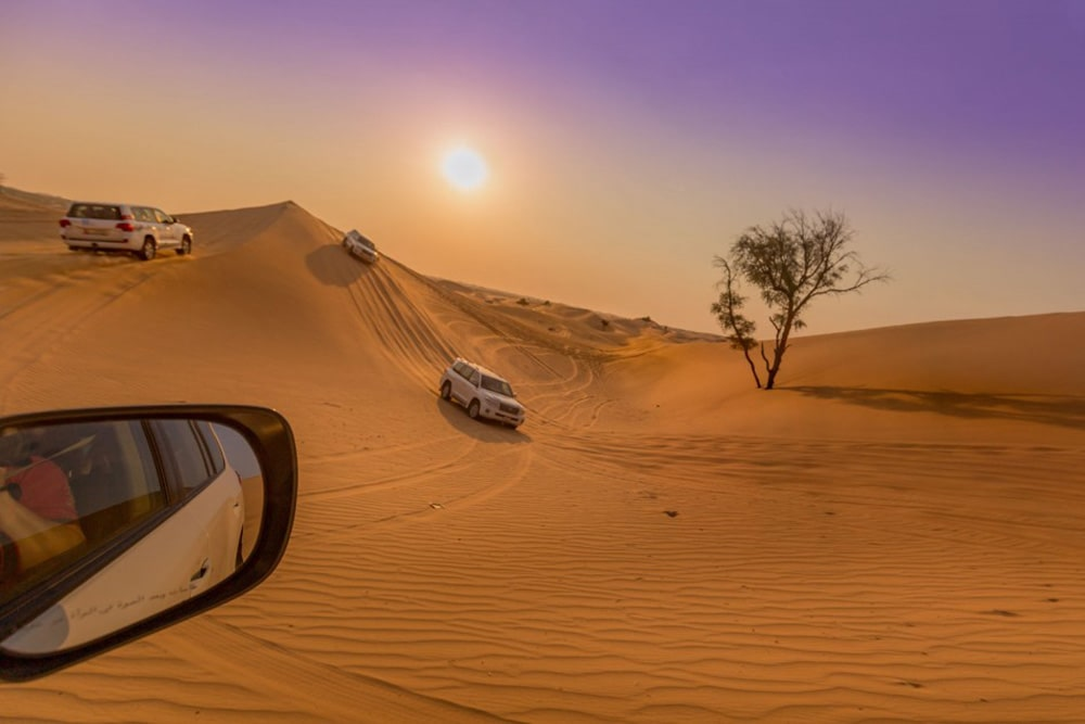 evening desert alkhaimah 3
