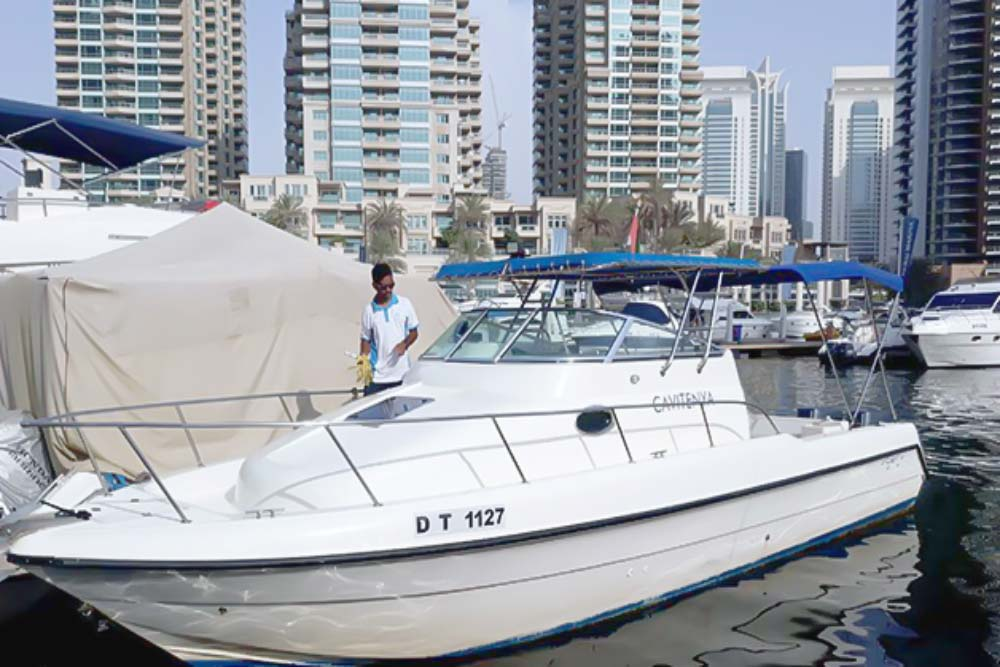 Fishing Boat Rental Dubai